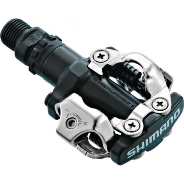 Контактные педали Shimano PD-M520 МТБ SPD черные