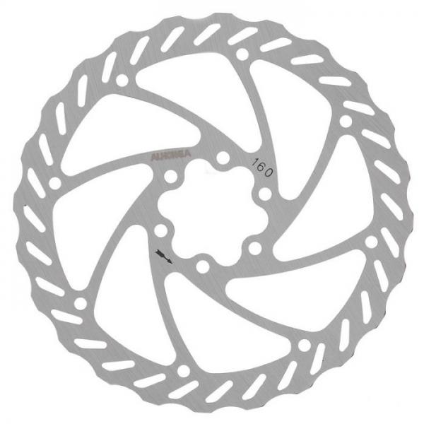 Ротор дискового тормоза ALHONGA HJ-DXR1603-SI 160 мм нержавейка