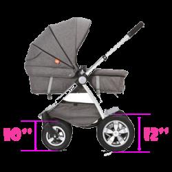 Покрышки на детскую коляску. Размеры и маркировка.