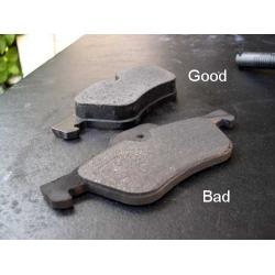Как проверить износ колодок на велосипедных тормозах?