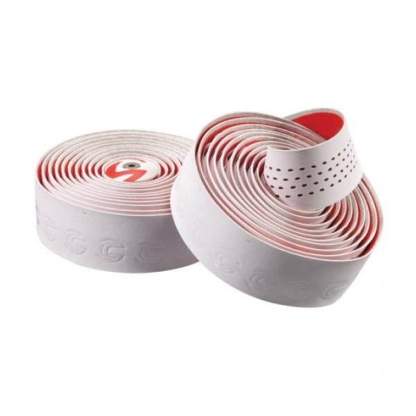 Обмотка руля Cannondale Microfiber Plus бело-красная