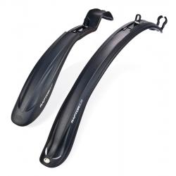 """Крыло переднее и заднее 24-28"""" SIMPLA RAPTOR SDS пластиковые черные"""