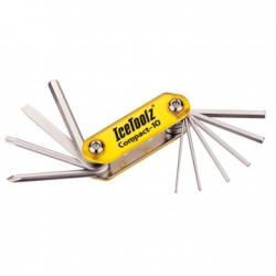 Мультитул Ice Toolz 94A5 Compact-10 складной 10 инструментов желтый