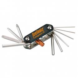 Мультитул Ice Toolz 95A5 Compact-11 складной 11 инструментов черный