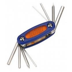 Мультитул Ice Toolz 97A3 Mighty-8 складной 8 инструментов синий