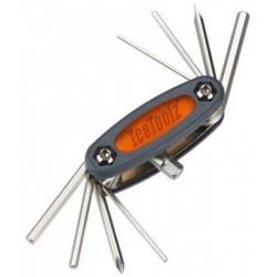 Мультитул Ice Toolz 97B3 Mighty-9 складной 9 инструментов серый