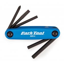 Мультитул Park Tool AWS-9 складной 5 инструментов синий