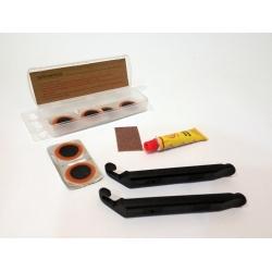 Ремонтный набор для камер Green Cycle YC-129A Patch Kit латки клей наждак 2 бортировки