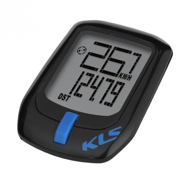 Велокомпьютер KLS Direct проводной 7 функций черно-синий