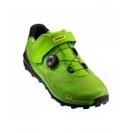 Обувь Mavic XA PRO МТБ размер 44 2/3 стелька 282 мм салатово-черная