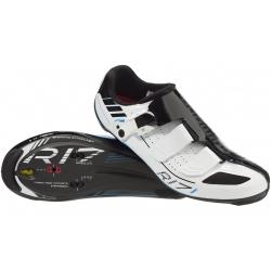 Велообувь Shimano R171W шоссе контактная SPD-SL размер 43 бело-черная