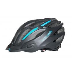 Шлем Green Cycle Rock размер 54-58 см матовый черно-синий