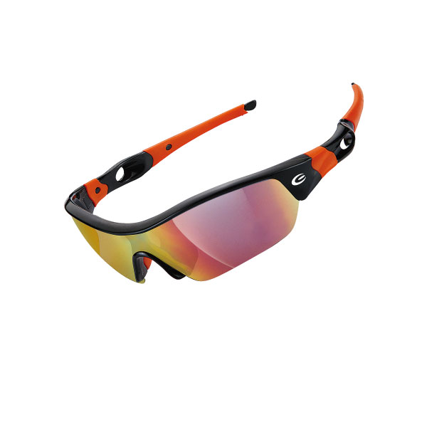 Очки EXUSTAR CSG09-4IN1 четыре сменных монолинзы черно-оранжевые