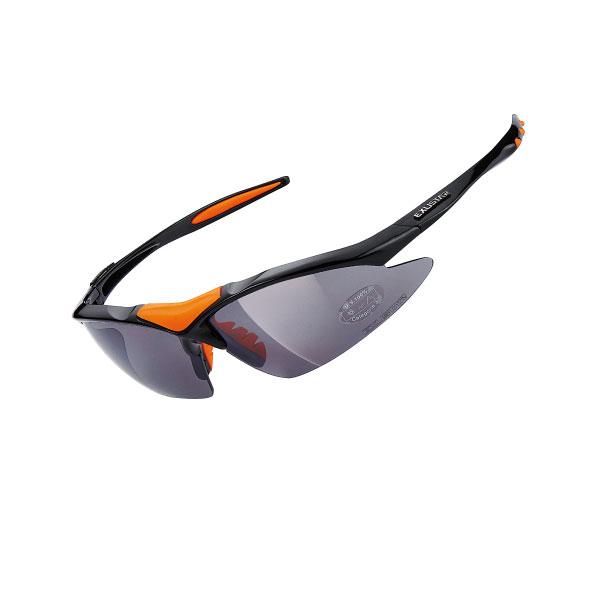 Очки EXUSTAR CSG05-4IN1 три пары сменных линз черные