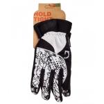 Перчатки зимние Green Cycle NC-2409-2014 с закрытыми пальцами размер XL черно-белые