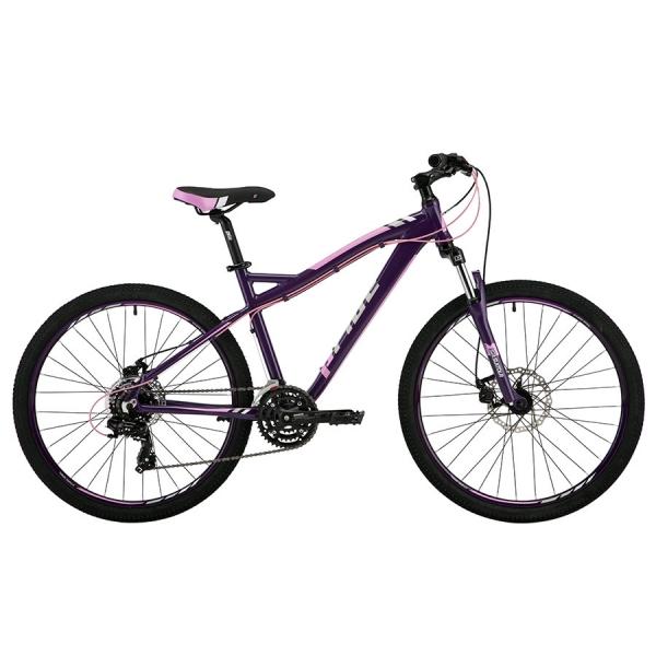 """Женский горный велосипед 26"""" Pride Stella 3.0 2017 рама - 16"""" темно-фиолетовый глянцевый"""
