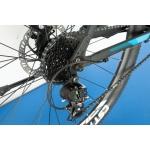 """Горный велосипед M136 Elite Trinx 27.5"""" Matt-Black-Grey-Blue"""