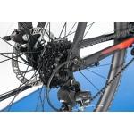 """Горный велосипед M136 Pro Trinx 29"""" Matt-black-grey-red"""