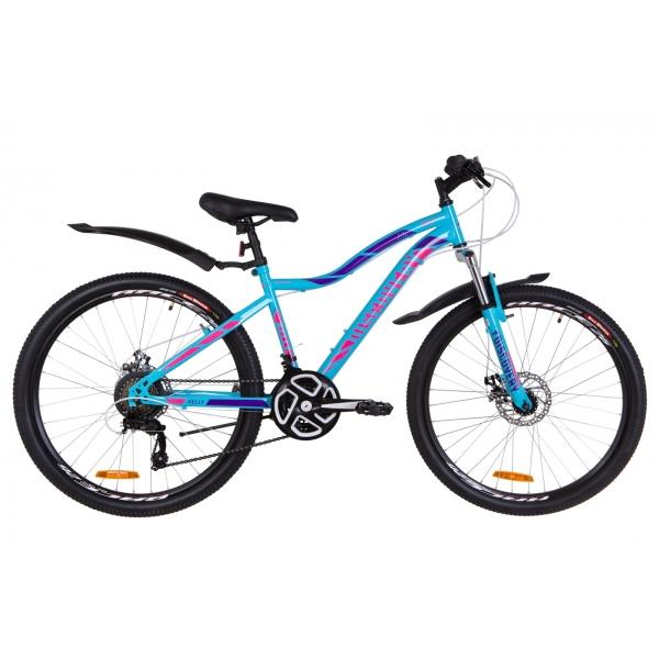 """Велосипед 26"""" Discovery KELLY AM DD 2019 с крыльями"""