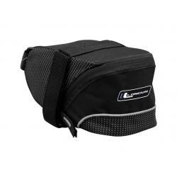 Подседельная сумка Longus STRAP-M 1,0 л застежки velcro черная
